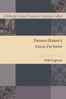 Thomas Hardy's Legal Fictions, Hardback Book