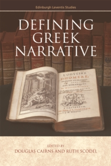 Defining Greek Narrative, Hardback Book