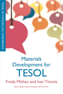 Materials Development for TESOL, Hardback Book