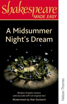 Shakespeare Made Easy: A Midsummer Night's Dream, Paperback / softback Book
