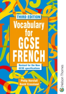 Vocabulary for GCSE French, Paperback Book