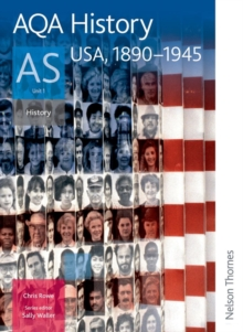 AQA History AS Unit 1 : USA, 1890-1945, Paperback Book