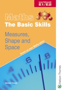 Maths the Basic Skills Measures, Shape & Space Workbook E1/E2, Paperback Book