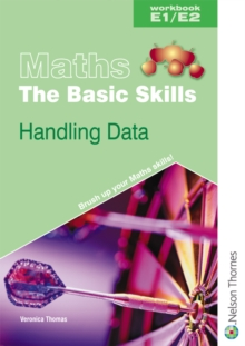 Maths the Basic Skills Handling Data Workbook E1/E2, Paperback Book