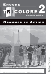 Encore Tricolore Nouvelle 2 Grammar in Action Workbook Pack (x8), Multiple copy pack Book