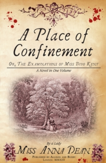 A Place of Confinement, Paperback Book