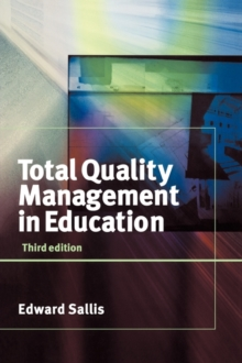 Total Quality Management in Education, Book Book