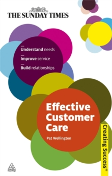 Effective Customer Care, Paperback Book