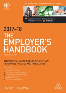 The Employer's Handbook 2017-2018, Paperback / softback Book