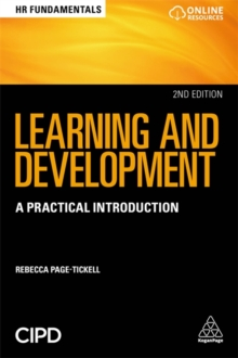 Learning and Development : A Practical Introduction, Paperback / softback Book