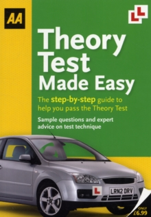 Theory Test Made Easy : AA Driving Test, Paperback / softback Book