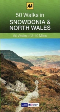 50 Walks in Snowdonia, Paperback Book