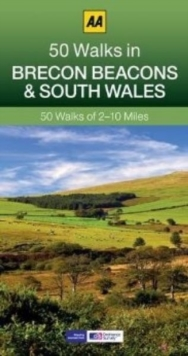 50 Walks in Brecon Beacons & South Wales, Paperback Book