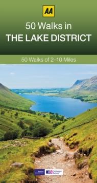 The 50 Walks in the Lake District, Paperback Book
