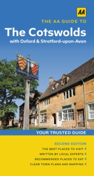 The Cotswolds with Oxford and Stratford-Upon-Avon, Paperback Book