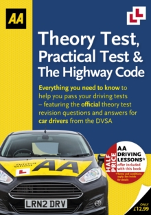 Theory Test, Practical Test & the Highway Code, Paperback / softback Book