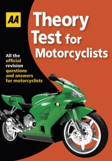 Theory Test for Motorcyclists : AA Driving Test, Paperback Book