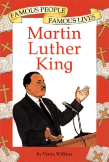 Famous People, Famous Lives: Martin Luther King, Paperback Book