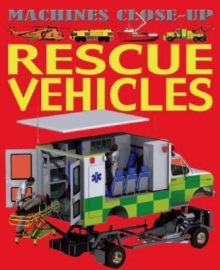 Rescue Vehicles, Paperback Book