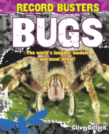 Record Busters: Bugs, Hardback Book