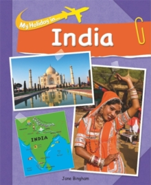My Holiday In: India, Paperback Book