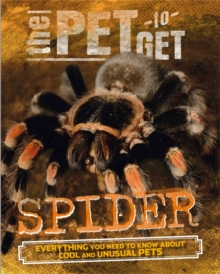 The Pet to Get: Spider, Paperback / softback Book