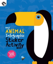My Animal Infographic Sticker Activity Book, Paperback / softback Book