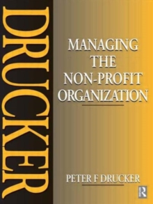 Managing the Non-Profit Organization, Paperback Book