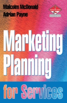 Marketing Planning for Services, Paperback Book