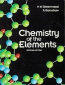 Chemistry of the Elements, Paperback / softback Book