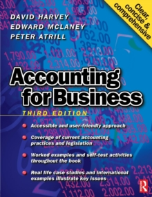 Accounting for Business, Paperback Book