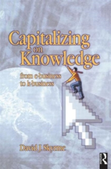 Capitalizing on Knowledge, Paperback Book