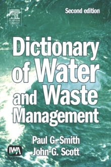 Dictionary of Water and Waste Management, Hardback Book
