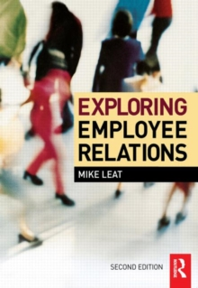 Exploring Employee Relations, Paperback / softback Book