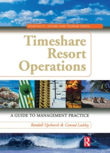Timeshare Resort Operations, Hardback Book