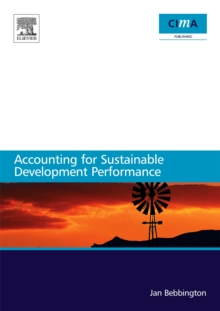 Accounting for sustainable development performance, Paperback / softback Book