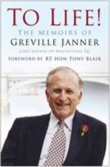 To Life : The Memoirs of Greville Janner, Paperback Book