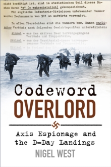 Codeword Overlord : Axis Espionage and the D-Day Landings, Hardback Book