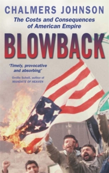 Blowback, Paperback Book