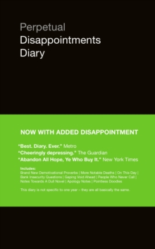 Perpetual Disappointments Diary, Paperback Book