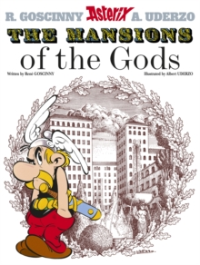 Asterix: The Mansions of The Gods : Album 17, Paperback Book