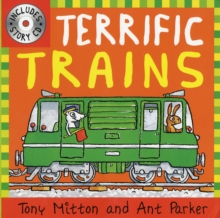 Terrific Trains, Mixed media product Book