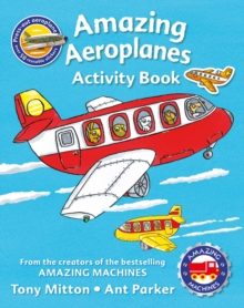 Amazing Machines Amazing Aeroplanes Activity Book, Paperback Book