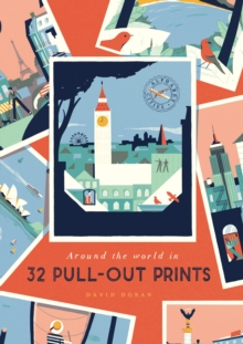 Alphabet Cities : Around the World in 32 Pull-out Prints, Paperback / softback Book