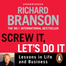 Screw It, Let's Do It : Lessons in Life and Business, eAudiobook MP3 eaudioBook