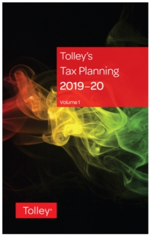 Tolley's Tax Planning 2019-20, Paperback / softback Book