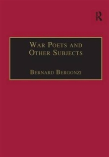 War Poets and Other Subjects, Hardback Book