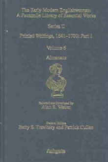 Almanacs : Printed Writings 1641-1700: Series II,  Part One, Volume 6, Hardback Book