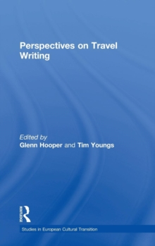 Perspectives on Travel Writing, Hardback Book