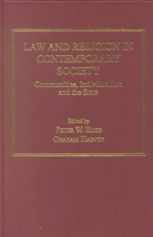 Law and Religion in Contemporary Society : Communities, Individualism and the State, Hardback Book